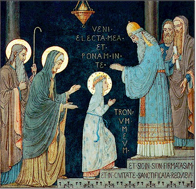 Image result for presentation of mary